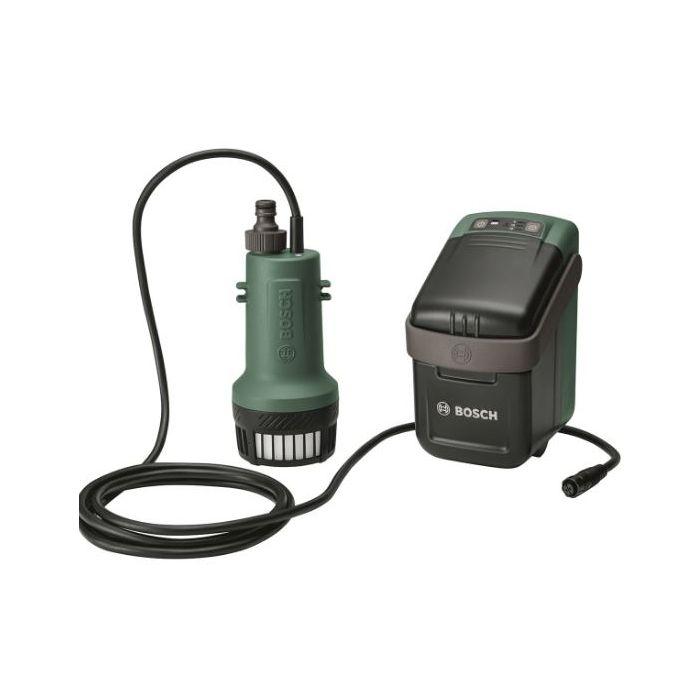 1 bater/ía, sistema de 18 V, longitud m/áxima de la manguera de jard/ín 25 m, en caja Bosch Home and Garden 06008C4200 06008C4200-Bomba de agua GardenPump 18 color verde